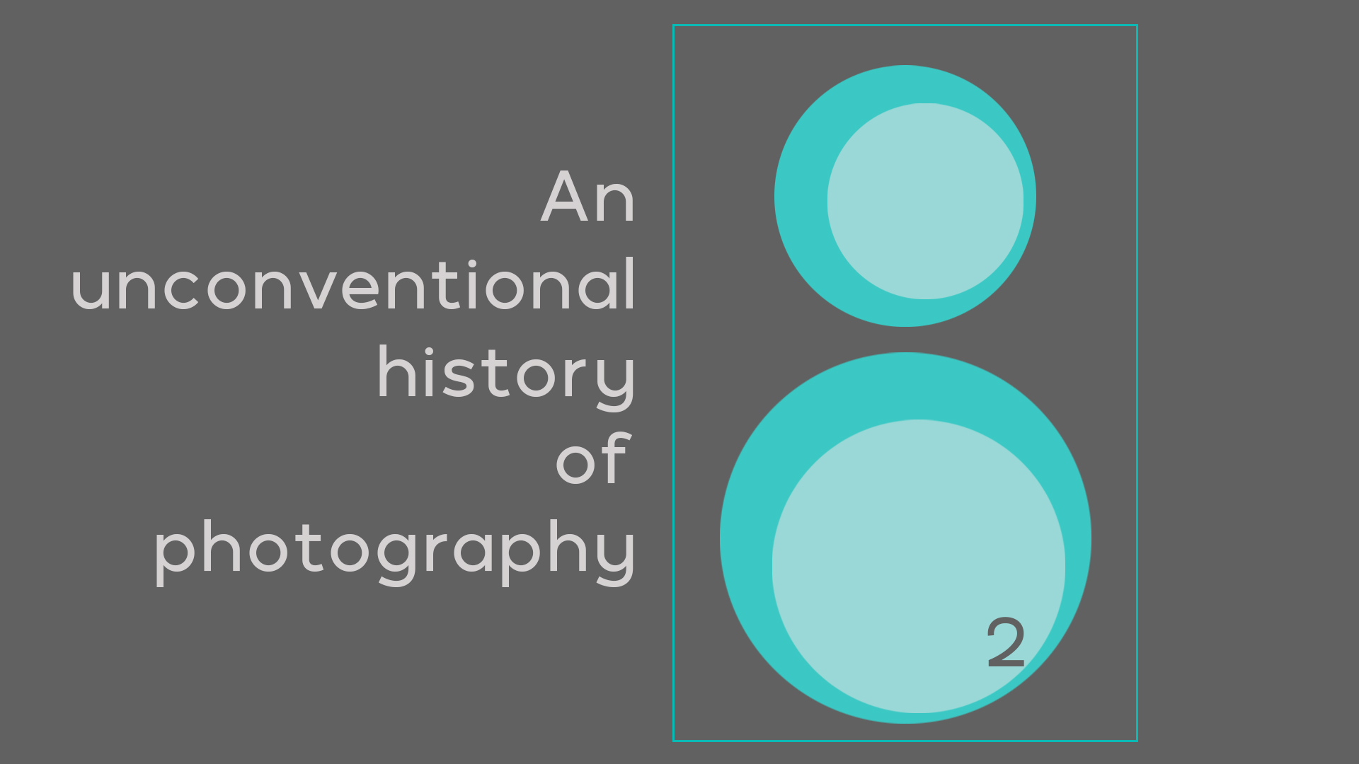An unconventional history of photography, Loomen Studio, Roma