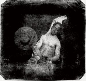 Hippolyte Bayard - Drowned man 1840