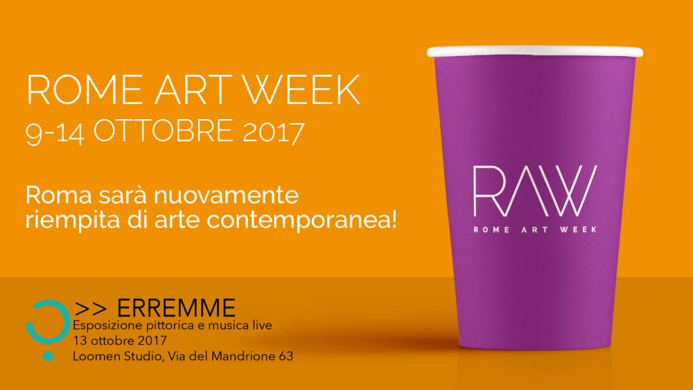 Loomen Studio, Roma - Eventi - Rome Art Week RAW 2017