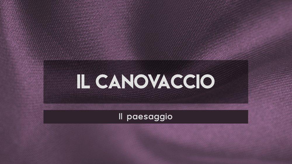 Il Canovaccio - Il paesaggio, Loomen Studio, Roma
