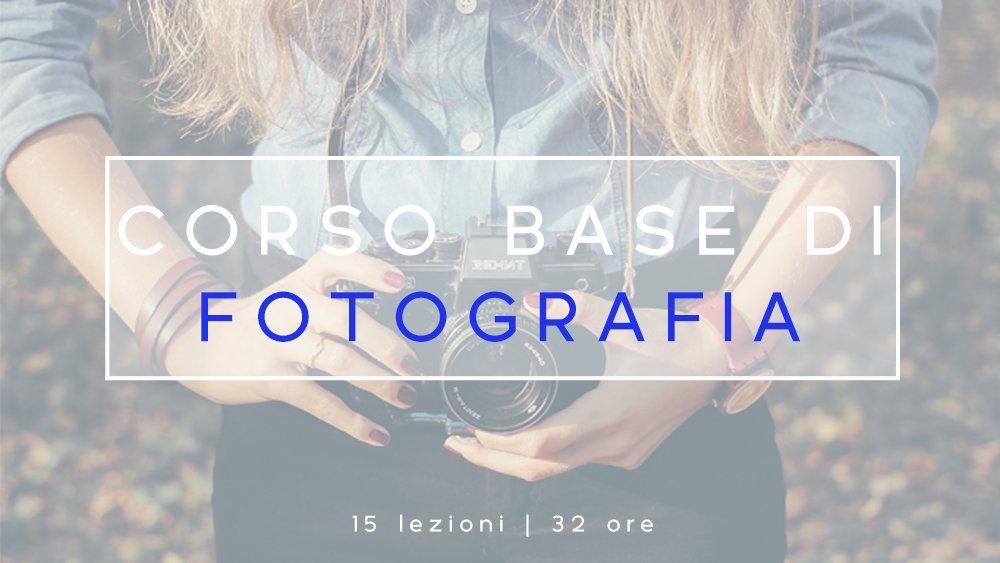 Corso Base Fotografia - Aprile 2018 - Loomen Studio