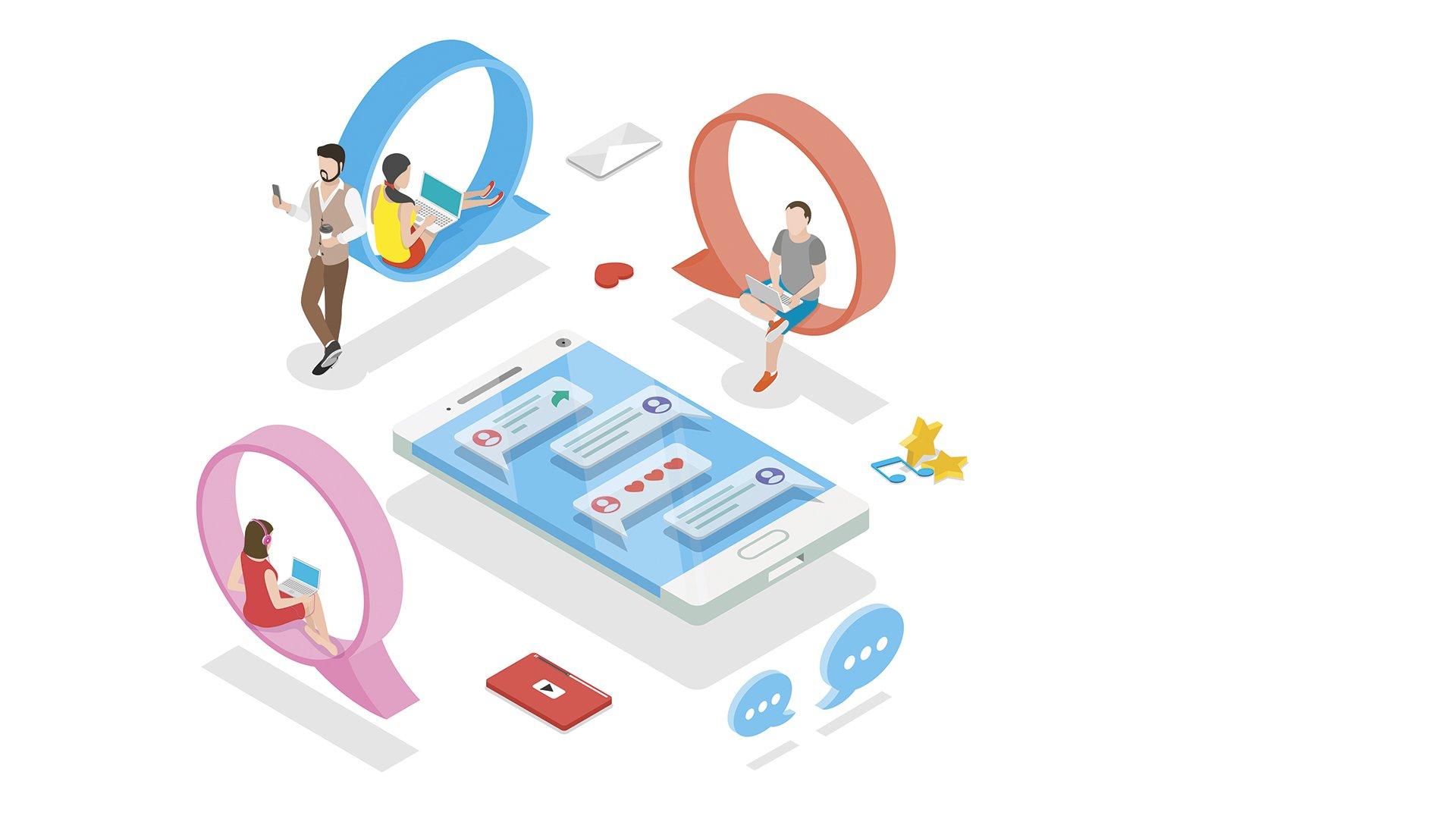 Loomen Studio Web Agency Comunicare e coinvolgere Identità e reputazione nei social media