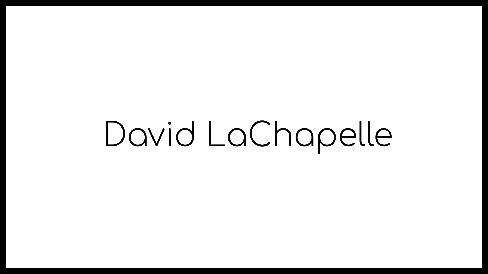 Loomen Studio Web Agency Sala Posa Fotografia Photo monographs David LaChapelle