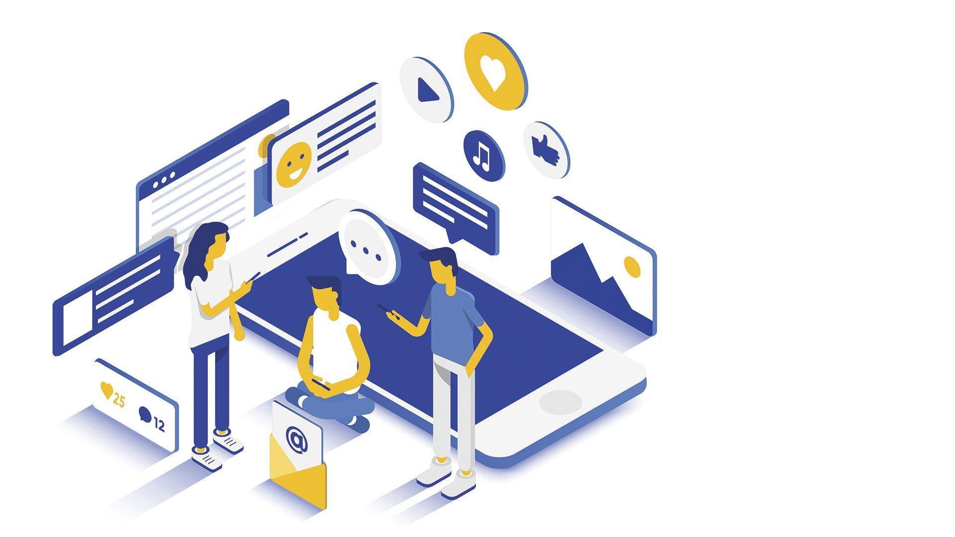 Loomen Studio Web Agency Comunicare e coinvolgere identita e reputazione nei social media