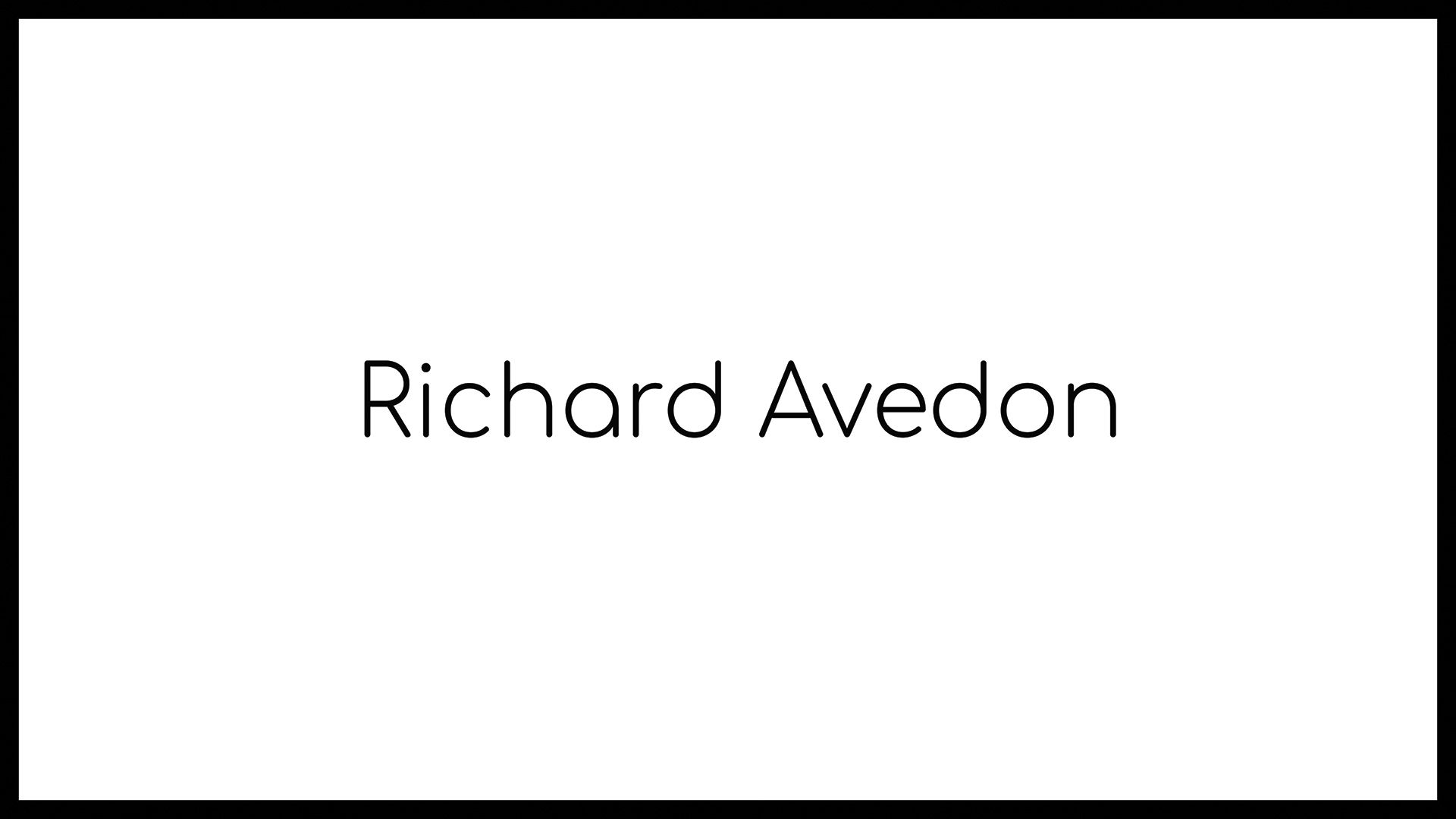 Loomen Studio Web Agency Sala Posa Fotografia Photo monographs Richard Avedon