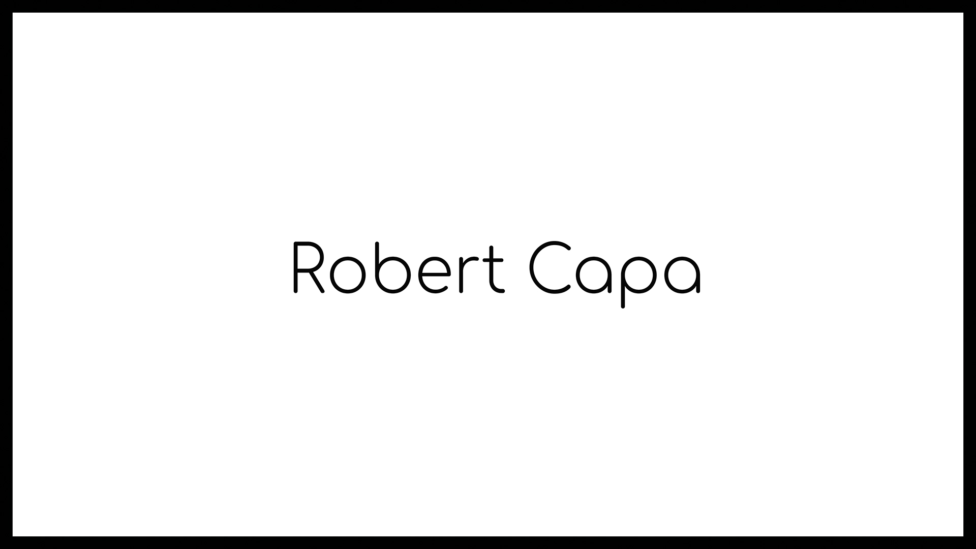 Loomen Studio Web Agency Sala Posa Fotografia Photomonographs Robert Capa