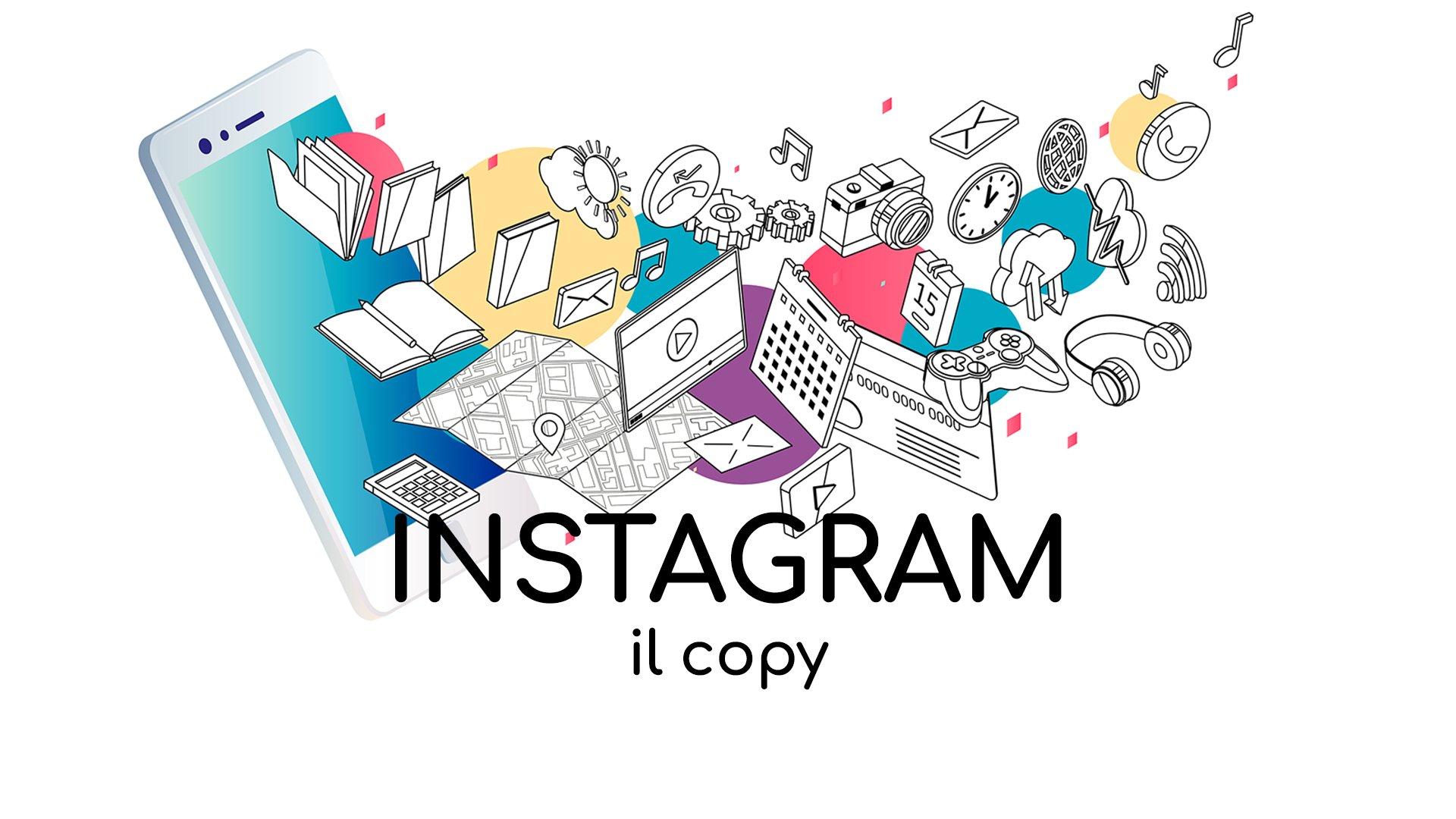 Loomen Studio Agenzia Comunicazione Roma - Social Media Instagram - Il copy
